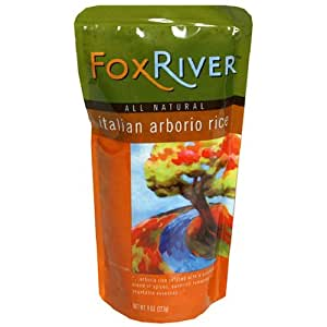Fox River Italian Arborio Rice, 8-Ounce Pouches (Pack of 6)