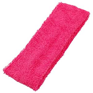 Lady Face Washing Shower Elastic Headband Hair Band Magenta 2 Pcs