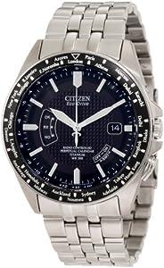 (极牛)Citizen 西铁城CB0030-56E 世界永久时全局电波钛金属男士腕表限时折后 $438.75