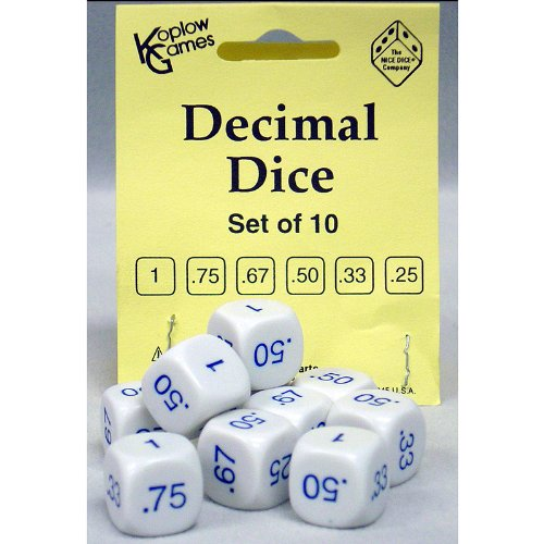 Decimal Dice (Set of 10)