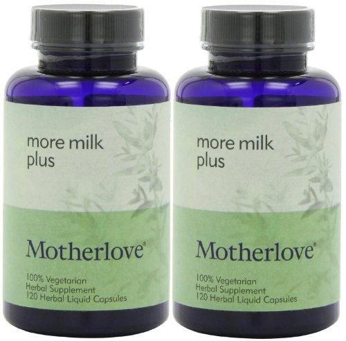 More Milk Plus Vegetarian Capsules (Alcohol Free) (120 X 2) front-79502