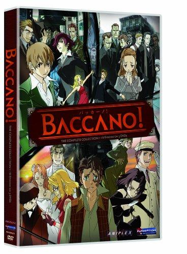 バッカーノ! DVD-BOX (全13話+番外編3話収録) 北米版 (日本語音声可)