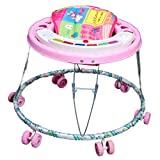 Brats N Angels Musical Baby Walker, 0-2 Years Pink