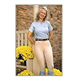 Ladies TuffRider Aerocool Knee Patch Riding Breeches