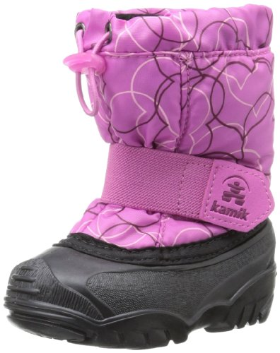 Kamik Footwear Tickle4 Insulated Boot (Toddler),Pink,9 M US Toddler