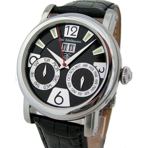 Eric Edelhausen Ethos Men S Automatic With Big Date And