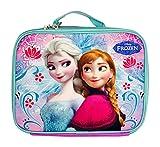 Disney Frozen Elsa and Anna Lunch Bag- Purple Swirl