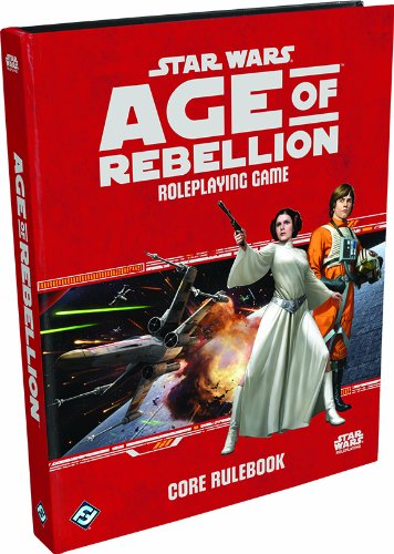 Star Wars: Age of Rebellion RPG Core Rulebook from Fantasy Flight Games