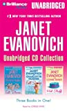 Janet Evanovich Unabridged CD Collection: Full Bloom, Full Scoop, Hot Stuff