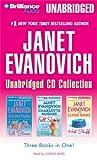 Janet Evanovich Unabridged CD Collection: Full Bloom, Full Scoop, Hot Stuff