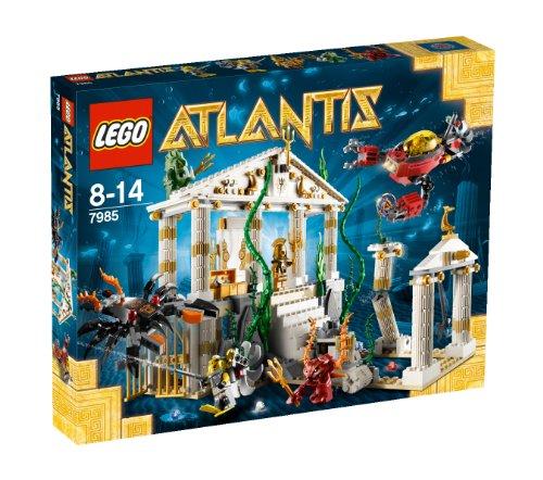 LEGO Atlantis 7985 - Tempel von Atlantis