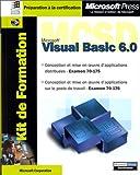 echange, troc Microsoft Corporation - Kit de Formation Microsoft Visual Basic 6.0 MCSD : Examens 70-176 et 70-175