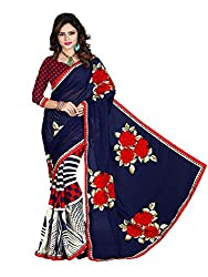 Gopika Creation Women's Georgette Saree_gop74_Multicolored_Freesize