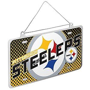 Steelers NFL 2015 Metal License Plate Ornament from SteelerMania
