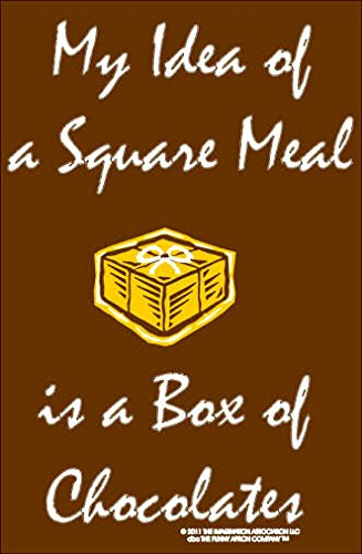 My Idea Of A Square Meal Is A Box Of Chocolates Apron