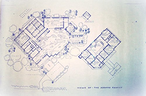 The addams family tv show house home 0001 for Addams family house floor plan