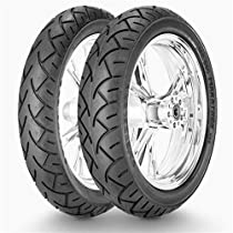 Metzeler ME880 Marathon XXL Front Tire - 120/70V-21, Position: Front, Tire Size: 120/70-21, Rim Size: 21, Load Rating: 62, Speed Rating: V, Tire Type: Street, Tire Application: Cruiser 1289300