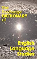 The Routledge Dictionary of English Language Studies (Routledge Dictionaries)