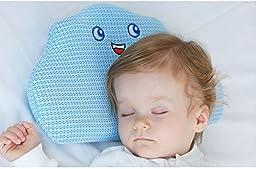 Toddler Pillow Nestraw Air Mesh 3d-core Prevent Flat Head Sleep Positioner(0-3years)