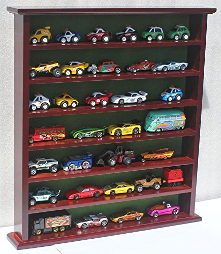 Hot Wheels Matchbox 1/64 scale Display Case Stand, NO DOOR, HW-GB20-MAH (Hot Wheels Display Case 1 64 compare prices)