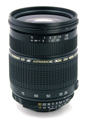 Tamron Autofocus 28-75Mm F/2.8 Xr Di Ld Aspherical (If) For Nikon Dslr Cameras