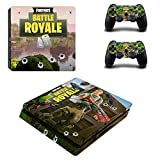 New PS4 Vinyl Skin Sticker Cover for Playstation 4 System Console and Controllers- Fortnite Battle Royal
