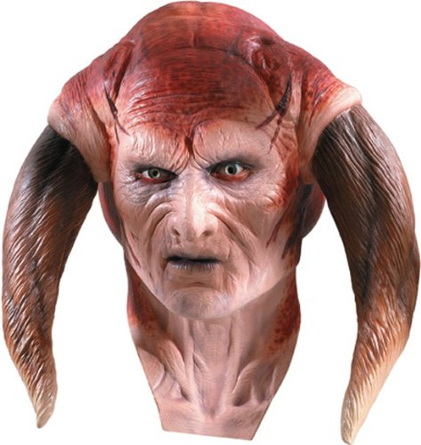 Rubie's Costume Women's Star Wars Deluxe Adult Latex Saesee Tiin Mask