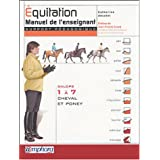 �quitation : Manuel de l'enseignant (Support p�dagogique) - Galops 1 � 7 - Cheval et Poneypar Catherine Ancelet