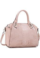 7K2893L MyLux® Women/Girl Fashion Crocodile Pattern Designer handbag