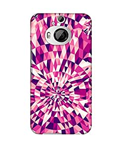 PickPattern Back Cover for HTC One M9 Plus
