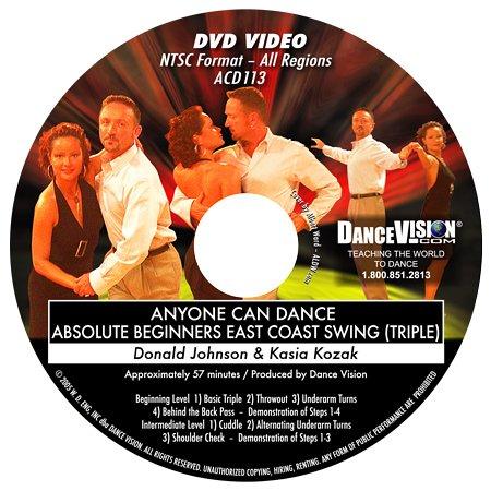 Anyone Can Dance East Coast Swing (Triple Time)
