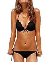 Komene Women's Sexy Push up Bikini Set