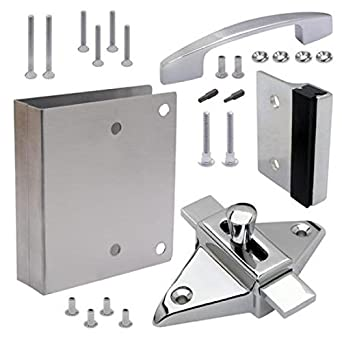 Tph Supply Bathroom Partition Door Fix It Kit Converts Concealed Latch To Slide