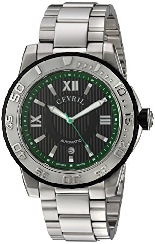Gevril-Mens-3111B-Seacloud-Analog-Display-Automatic-Self-Wind-Silver-Watch