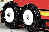 Feuerwehr Doppelbett ausziehbar 200 x 90 cm - 7