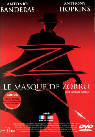The Mask of Zorro [DVD] [Import]