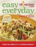 img - for Easy Everyday Favorites: From the World's #1 Cooking Website by allrecipes.com (2007) Hardcover book / textbook / text book