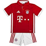 Adidas FC Bayern München Home Mini Kit Babies Multi-Coloured Fcbtru/White Size:110 cm