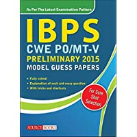 IBPS (CWE) PO/MT-V Preliminary 2015 Model Guess Papers