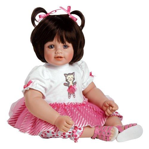 Adora-Baby-Doll-20-Purr-fectly-Posh-Dark-Brown-HairBlue-Eyes
