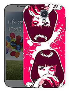 """Humor Gang Pulp Fiction Confident Girl Printed Designer Mobile Back Cover For """"Samsung Galaxy S4 Mini"""" (3D, Matte, Premium Quality Snap On Case)"""