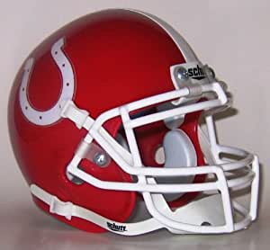 Dallas Center-Grimes Mustangs High School Mini Helmet - Dallas Center, IA