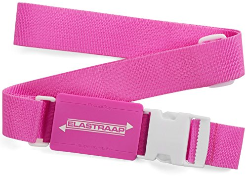 """Luggage Strap Id Belt Elastraap Superior Strength Non-Slip Expands 45""""- 80"""" front-53217"""