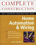img - for Home Automation & Wiring 1st (first) Edition by Gerhart, James published by McGraw-Hill/TAB Electronics (1999) book / textbook / text book