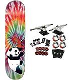 ENJOI Complete Skateboard OG PANDA TIE DYE 8.0