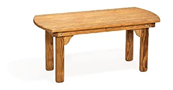 Pine Wood English Garden Coffee Table (Natural)