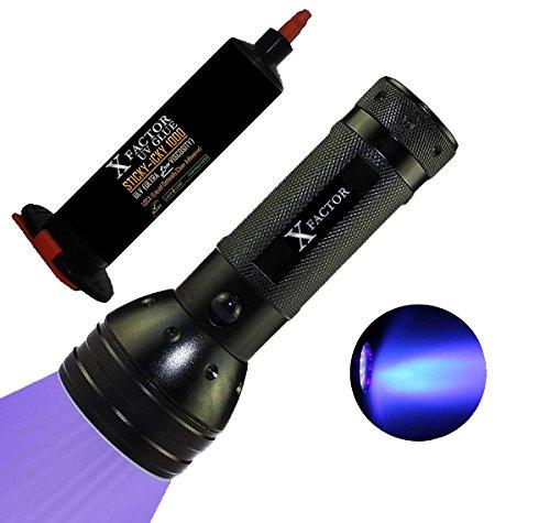 Xfactor® Sticky-Icky 1000 Ultra Low Viscosity Uv Loca Glue Adhesive + 51 Led Uv Light Black Light Flashlight For Lcd Glass Digitizer Repair - Money Back Guarantee !!