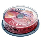 20 TDK DVD-RW 8cm Mini Discs 1.4GB for Camcorder/Handycam Use