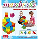 Massbricks Building Blocks For Life, 31 Pieces