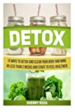 img - for Detox: 15 Ways to Detox and Clean Your Body and Mind in Less Than 2 Weeks and Start to Feel Healthier (Detox, detox diet, detox books) book / textbook / text book